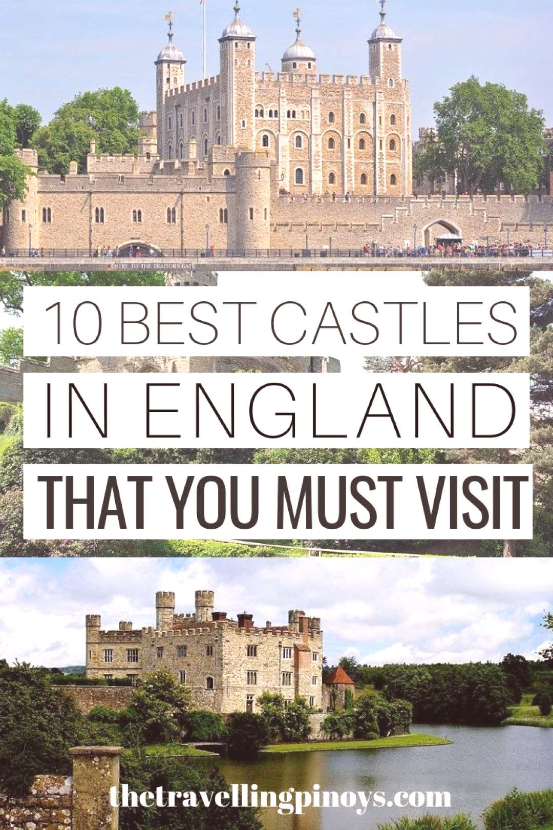 10 Best Castles in England To Visit -