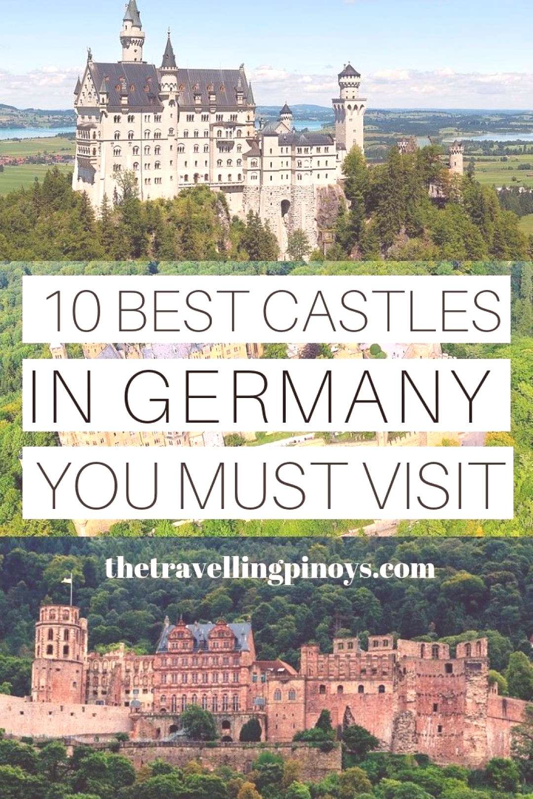 10 Best Castles in Germany You Must Visit 10 Best Castles in Germany | Germany travel tips | German
