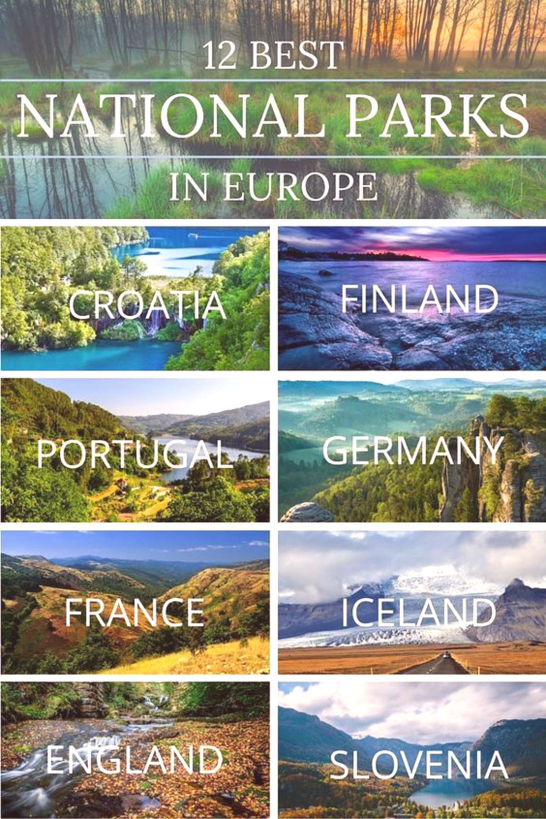 12 of the Best National Parks in Europe The 12 Best National Parks in Europe