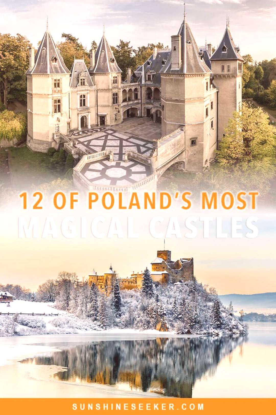12 stunning fairytale castles in Poland you have to see! 12 of the most beautiful fairytale castles