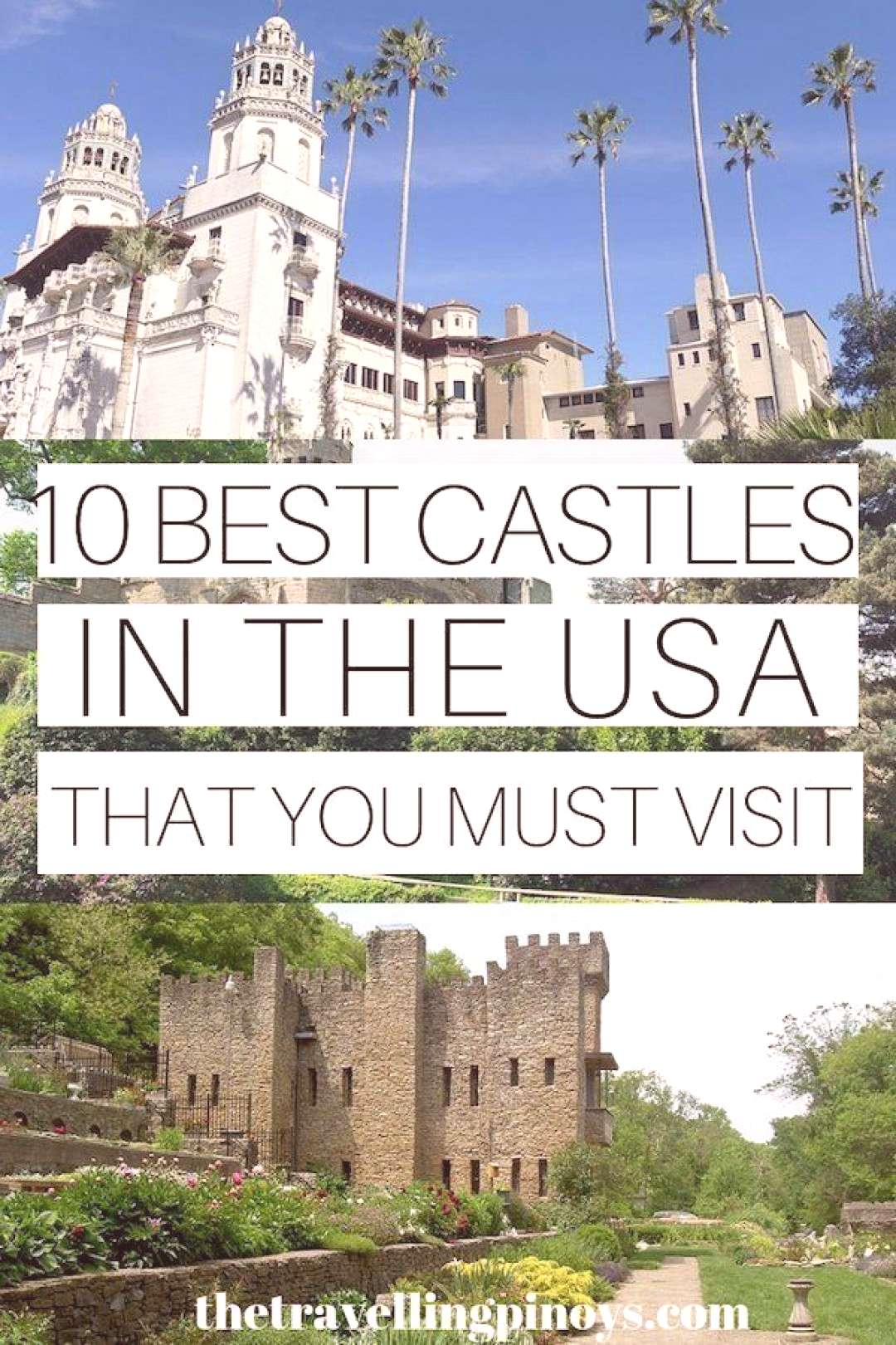 35+ Colorful family travel Magnet list 10 BEST CASTLES IN THE USA | USA TRAVEL DESTINATIONS | USA T