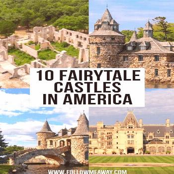 Explore the most charming and beautiful castles in America with remarkable historical impact and