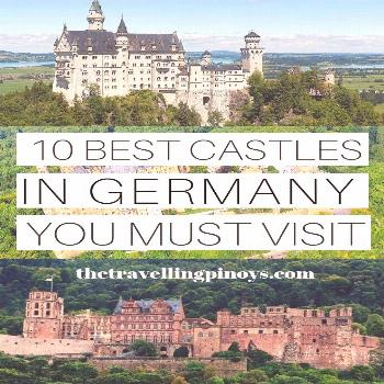 From the world-famous fairytale-like Neuschwanstein Castle to the Instagrammable Burg Eltz —
