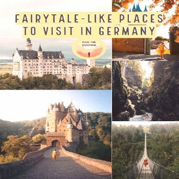 Germany is full of moody hikes, and must-see fairytale views. Read about places to visit in