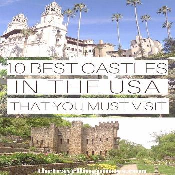 The US has quite a number of castles that are worth visiting and so here's the list of best c