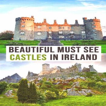 Want to see castles on your next Irish vacation? This list has the absolute best castles to vis
