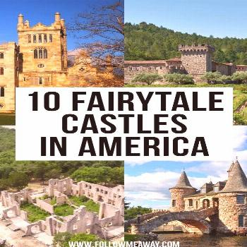 10 Fairytale Castles in America You Must See | Usa travel guide, United states travel, Travel usa -