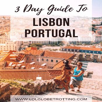 3 Day Guide to Lisbon - A Portugal Paradise - Ruhls of the Road 3 Day Guide to Lisbon, Portugal. Th