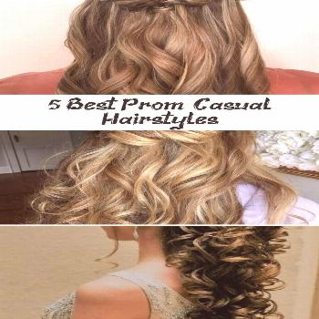 5 Best Prom & Casual Hairstyles  HairStyles NailStyles#casual  Bridesmaid Hair Updo Casual Hairstyl