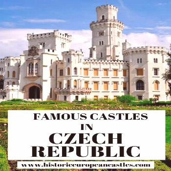 50 Famous Castles in Czech Republic Built in a vast amount of different architectural styles from d