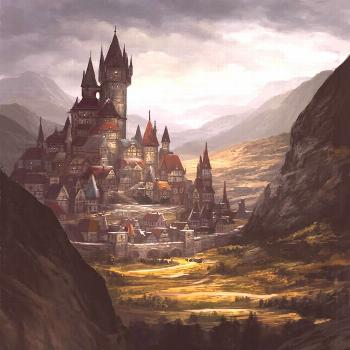 67 Fantasy and Medieval Buildings, Cities & Castles Concept Art to Inspire You From medieval city c