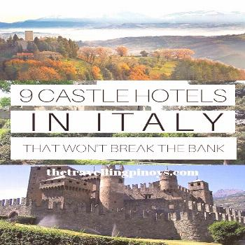 9 BEST CASTLE HOTELS IN ITALY | ITALY ACCOMMODATIONS | HOTELS IN ITALY | ITALY HOTELS | ITALIAN CAS