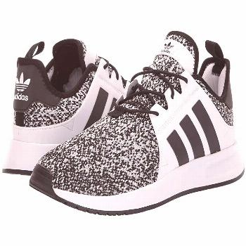 adidas Originals X_PLR (White/Black/Grey Three) Men's  Shoes. Keep your style cool and clean in the