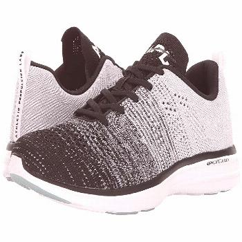 Athletic Propulsion Labs (APL) Techloom Pro (Black/Heather Grey/White) Men's  Shoes. Stay fresh wit