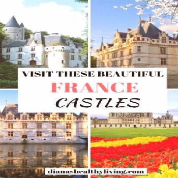Beautiful Castles in France to Add to Your Bucket List | Diana's Healthy Living Heading on a French