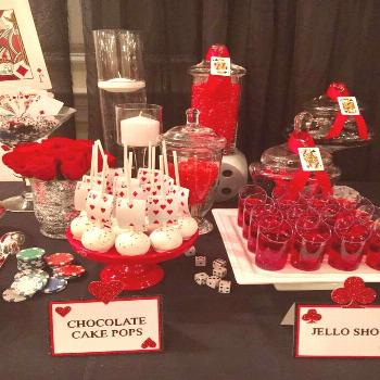 Casino Night  Dinner Party Party Ideas | Photo 4 of 30