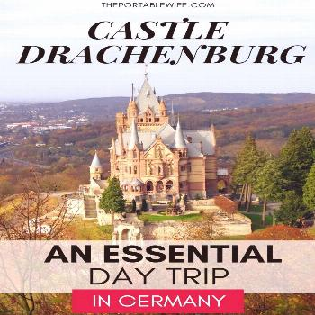Castle Drachenburg is one of the best castles in Germany. This fairytale travel destination in the