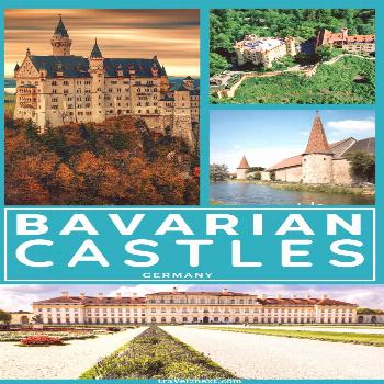 Castles in Bavaria -  The most amazing castles in Bavaria, Germany. Imagine living like a king or q