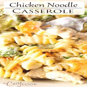 Chicken Noodle Casserole This Chicken Noodle Casserole is a perfect meal prep recipe that you can m