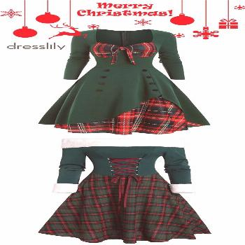 Christmas Party Dress for Winter Holiday. Shop with Code DLPIN6 for Extra 20% OFF. Casual Outfits p