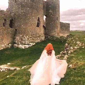 Could ever a video bespeak more my enchantment with medieval Scotland? Ethereal beauty, mysterious
