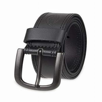 Dickies Men's Big and Tall Casual Leather Belt, Black, 48
