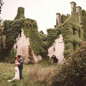 Dont castles make awesome backdrops for an elopement?  What I like even more is when you can have y