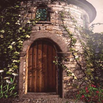 Enchanted Castle Backdrop - 3800 We offer our photography backdrops in many material options with t