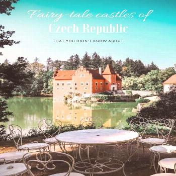 Fairy-tale Castles in Czech Republic That You Didn't Know About - Travel Monkey Want some suggestio