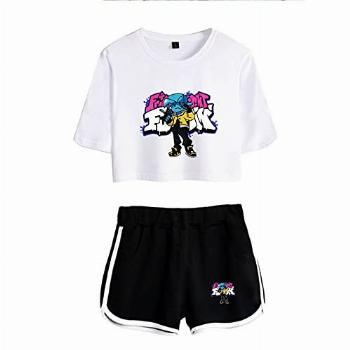Friday Night Funkin Shirt for Woman and Girl Top and Shorts