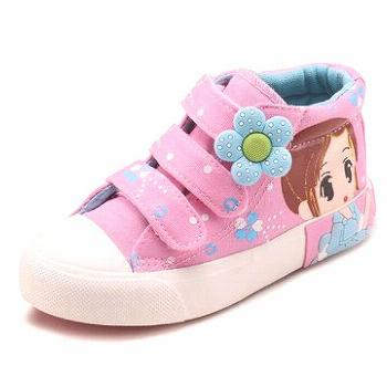 Girls Canvas Cartoon Lovely Casual Shoes Girls