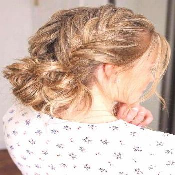 Hairstyles Updo Casual Braided Crown 29 Ideas – – - New Site#braided#braided