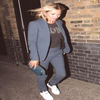 Kate Moss - so she might be a great clothes horse but c'mon .... and Pete Doherty? You've got to be