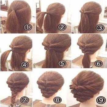 Long updos slightly casual - New Site#casual