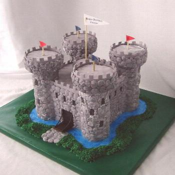Medieval castle | Composed of cake and rice cereal; individu… | Flickr