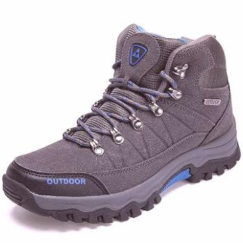 Men Synthetic Suede Casual Hiking Boots Men