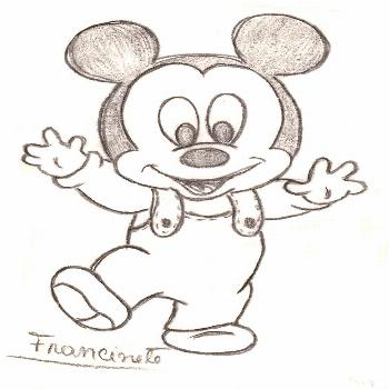 Mickey – draw    You get a special eye-catcher when you choose unexpected color variations and br