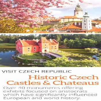 More than 40 Castles & Chateaus in the Czech Republic will offer exhibits and complementary program