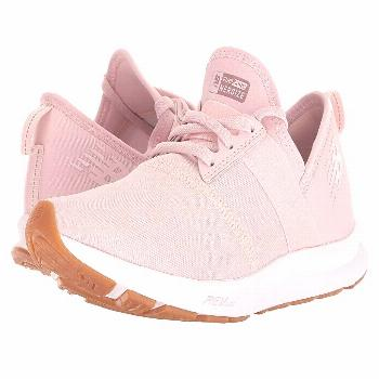 New Balance Nergize v1 (Conch Shell/White) Women's  Shoes. Modern style meets comfy cushioning in t
