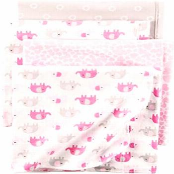 New Carter's Baby Girls' 4-Pack Flannel Receiving Blankets Kids Home Store. [$32] pptoplike Fashion