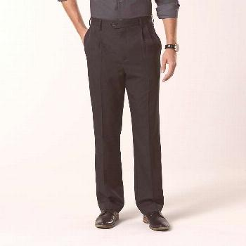NEW David Taylor Collection Men's Classic Fit Pleated Dress Pants size 44x30