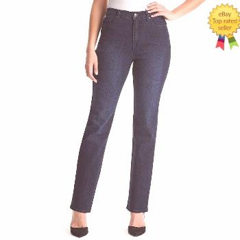 NEW Gloria Vanderbilt Womens Jeans Straight Embroidered size 6