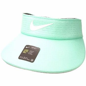 Nike Aerobill Visor Big Bill (Green Glow/Anthracite/White) Casual Visor. Coverage isn't an issue wi