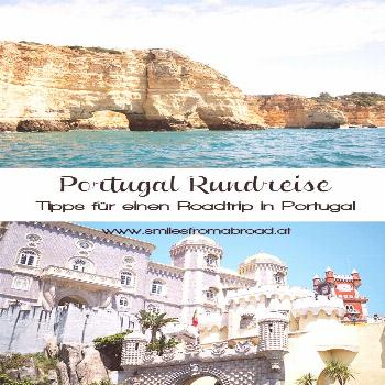 Portugal round trip by car - from castles over cliffs - our route - smilesfromabroad -  On our 10 d