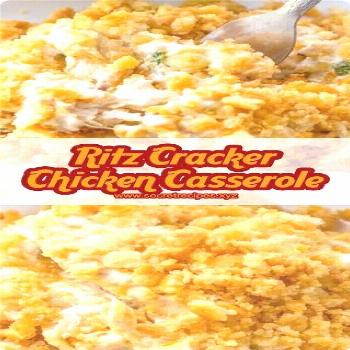 Ritz Cracker Chicken Casserole Ritz Cracker Chicken Casserole - Hello, followers!!! Today I'll shar