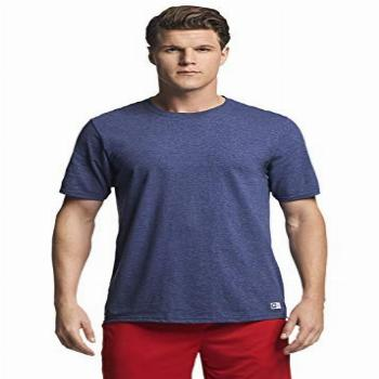 Russell Athletic mens Performance Cotton Short Sleeve