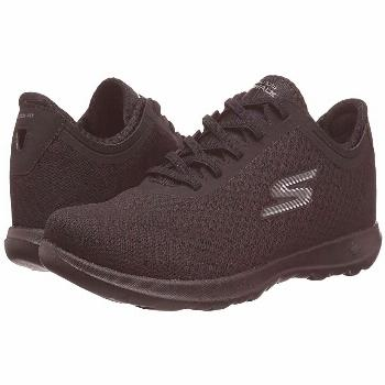 SKECHERS Performance GOwalk Lite - Impulse (Black) Women's  Shoes. You're always on the move with t