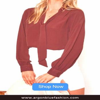 Tesla Top - Chocolate Stand out in the crowd in this chocolate Tesla top, it features V neckline wi