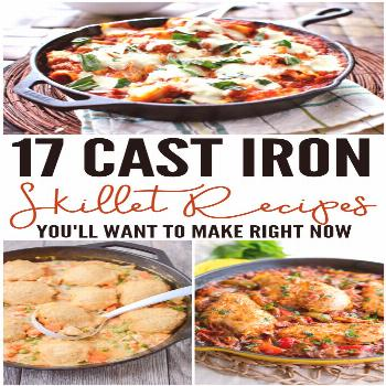 The beauty of cast iron skillets is that they can go from the stovetop to the oven, to the grill an