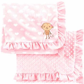 The perfect Simple Joys by Carter's Baby Girls' 2-Pack Plush Blankets Home Kitchen. [$28.69] seetop
